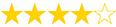 puntuación 4 estrellas