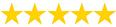 puntuación 5 estrellas