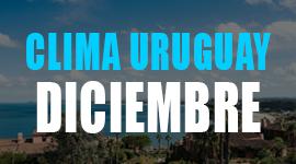 clima en uruguay en diciembre