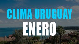 clima uruguay enero