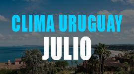 clima en uruguay en julio