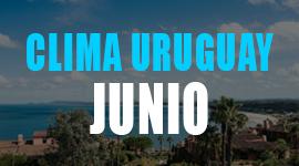 clima en uruguay en junio