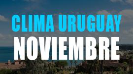 clima en uruguay en noviembre