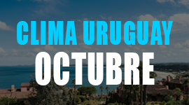 clima en uruguay en octubre