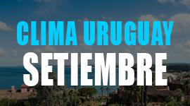 clima en uruguay en setiembre