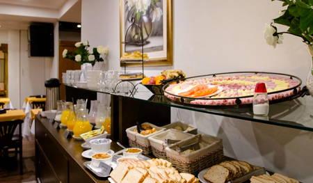 desayuno buffet hotel america montevideo