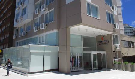 hotel intercity premium montevideo fachada