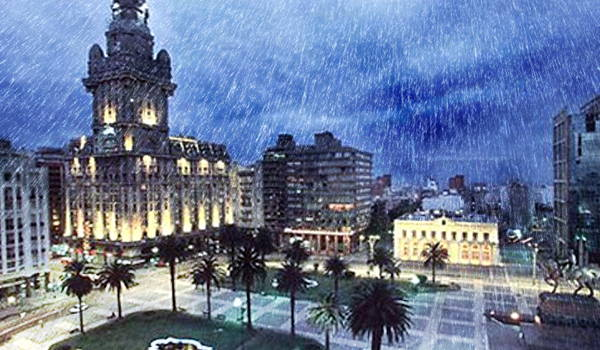 lluvia en uruguay