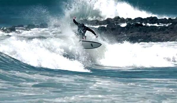 playa en la barra ideal para practicar surf