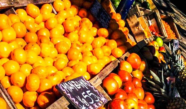 frutas y verduras en feria de tristan narvaja