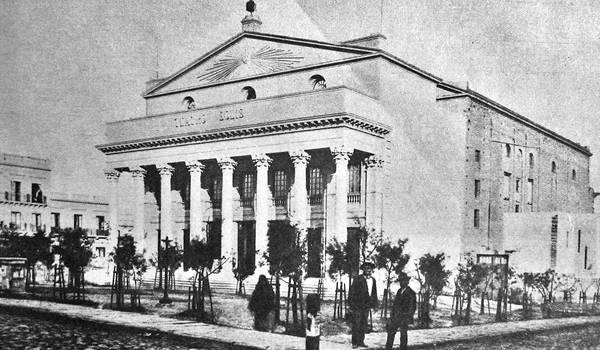 construcción del teatro solis