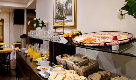 desayuno hotel américa