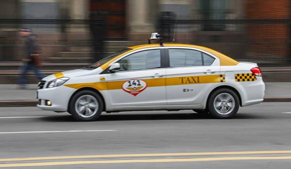 taxi en la ciudad de montevideo