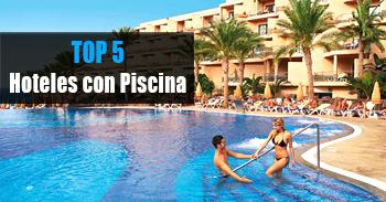 mejores hoteles con piscina