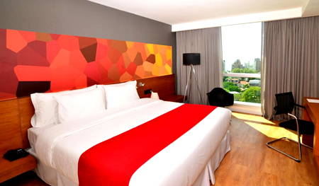 habitación bit design hotel