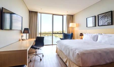 habitación hotel hampton montevideo