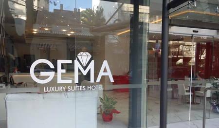 fachada hotel gema luxury suites