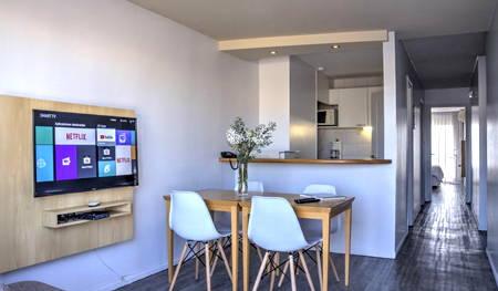 hotel punta trouville habitación con cocina