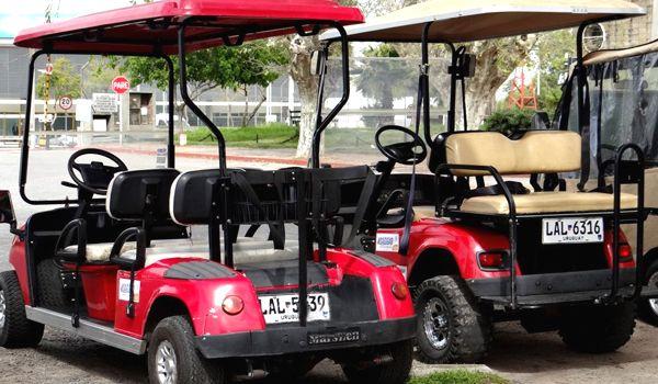 tipos de carros de golf para alquilar en colonia