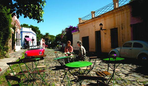 comercios en el barrio histórico de colonia