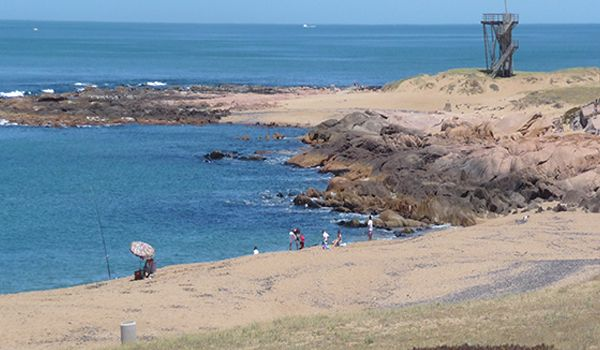 playa piedras del chileno punta del este